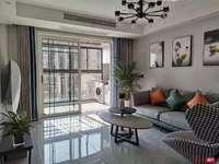 华南双学区29楼90平2室全新装修未入住中央空调名牌家电103万