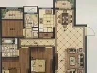 爱家尚城正则学区黄金楼层127平 三室二厅二卫南北通透双阳台129.8万过户独家