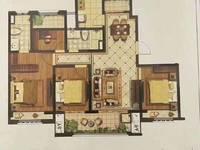 爱家尚城11楼142平四开间朝南户型,改合同售价138.8