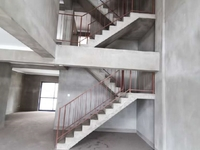 天波城3 4 5叠拼,5室3卫毛坯,带汽车库车库,空间利用率大,超大阳光房