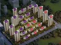 中南君悦府26楼128平四室二厅二卫毛坯房东急售125万 看中可谈