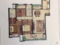 出售爱家尚城3室2厅2卫126平米129.8万毛坯无税 独家