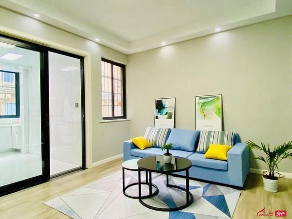 马家庄 1楼78平 二室一厅 新装修 独库 大院子前面无遮挡 冬天都有太阳 采