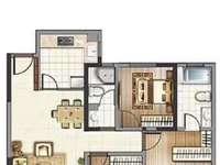 出售翡翠林中间楼层 户型佳 采光刺眼 房东外地发展 急售价108.8万