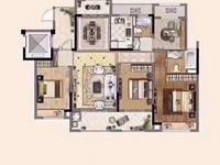中南 一期洋房2楼总高6楼128平 毛坯改合同无税149.8万三房间朝南客厅朝南
