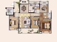 出售中南现房洋房4室2厅2卫128平米158.8万住宅