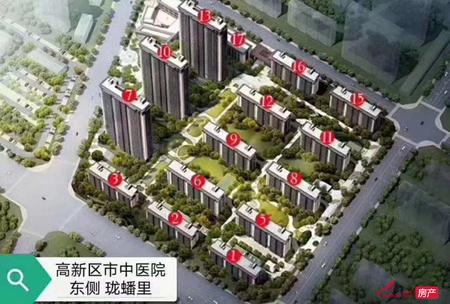 珑蟠里工程房中间楼层136平方 改合同102.8万 独家一手