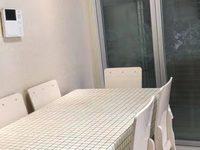 城市绿洲精装二室二厅一卫80平,月租金:2300元 含物业费