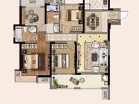 中南君悦府一期现房128平方4室2厅2卫户型好采光好双阳台含汽车位137.8万