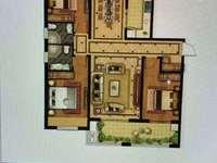高性价比房源 和园28楼156平 3室2厅2卫 飞机户型 双阳台 117.8万