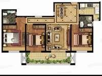 高性价比房 和园23楼 144平 3室2厅2卫 毛坯 飞机户型 107.8万