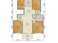 天颐城黄金楼层现房125平米130.8万