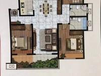 天怡九龙苑中层127平4室2厅2卫毛坯改合同106.8万