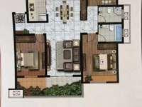 独家九珑苑第一排5楼8楼127平3室2厅2卫毛坯改合同可贷款107.8万