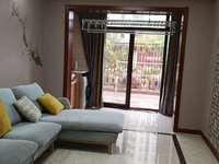 丹凤国际 一楼带院子 90平2室,豪华装修,拎包入住,租2400元包物业